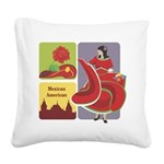 mexican6.png Square Canvas Pillow