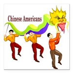chinese2.png Square Car Magnet 3