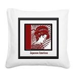 JapaneseAmericans.png Square Canvas Pillow