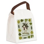 birdhouse.png Canvas Lunch Bag