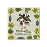 birdhouse.png Square Sticker 3
