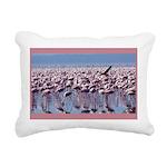 flamingoflock.JPG Rectangular Canvas Pillow