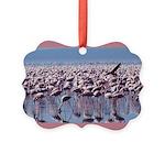 flamingoflock.JPG Picture Ornament