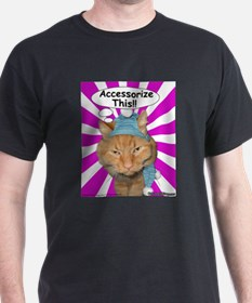 Hippy Kitty Accessorize This!! T-Shirt