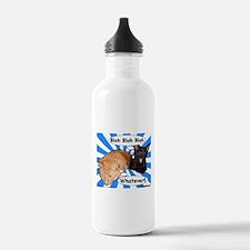 Hippy Kitty Blah Blah Blah Whatever!! Water Bottle
