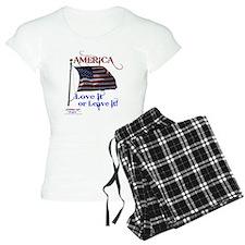 America Love It or Leave it Pajamas