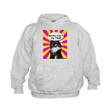 Hippy Kitty Betcha Cant Do This!! Hoodie