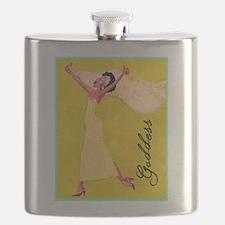 """Goddess"" Flask"