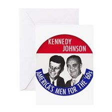 KENNEDY / JOHNSON Greeting Card