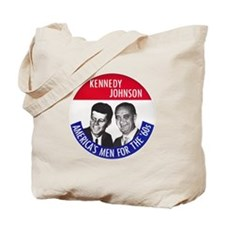 KENNEDY / JOHNSON Tote Bag