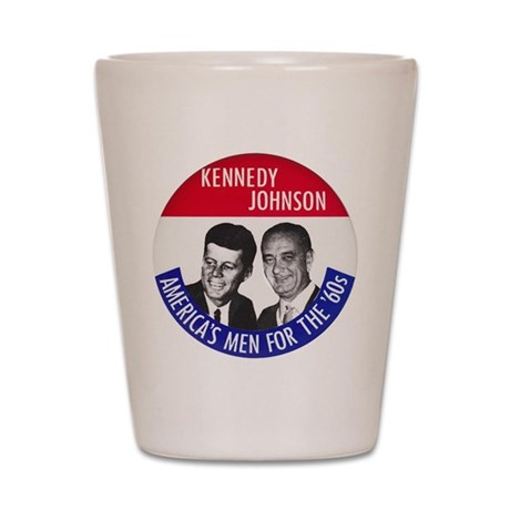 KENNEDY / JOHNSON Shot Glass