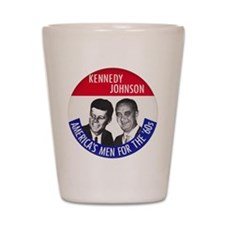 KENNEDY / JOHNSON Shot Glass