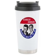 KENNEDY / JOHNSON Travel Coffee Mug