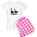 Tufted Toulouse Geese Women's Light Pajamas