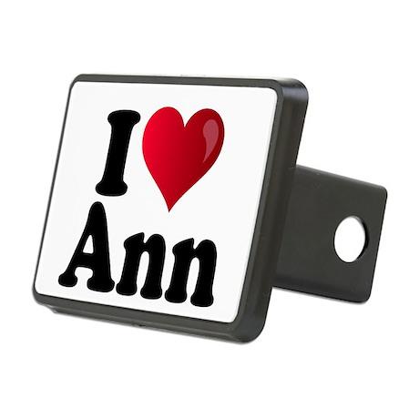 I Heart Ann Romney Rectangular Hitch Cover