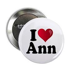 "I Heart Ann Romney 2.25"" Button"