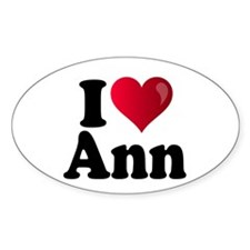 I Heart Ann Romney Decal