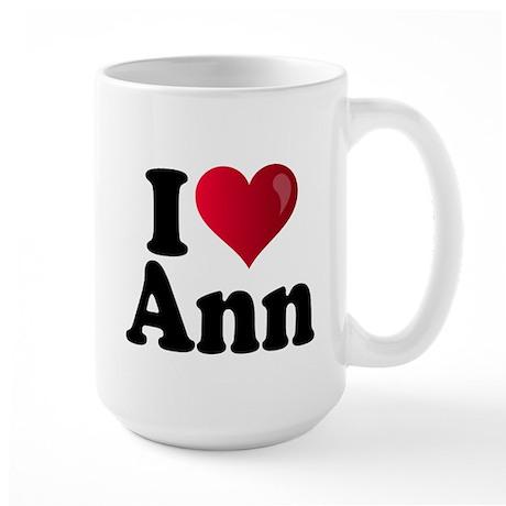 I Heart Ann Romney Large Mug
