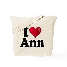 I Heart Ann Romney Tote Bag