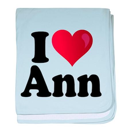 I Heart Ann Romney baby blanket