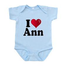 I Heart Ann Romney Infant Bodysuit