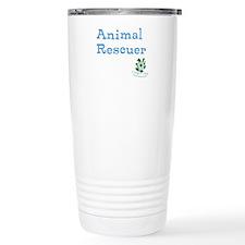 Animal Rescuer Stainless Steel Travel Mug