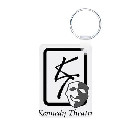 Kennedy Theatre Logo Aluminum Photo Keychain