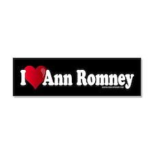 I Heart Ann Romney Car Magnet 10 x 3