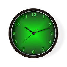glowing clocks glowing wall clocks large modern