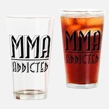 MMA Addicted 2 Drinking Glass