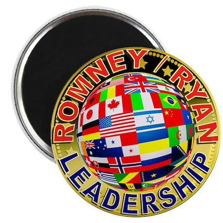 Romney Leadership2 Magnet
