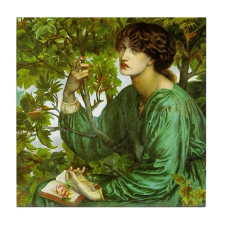 Daydream by Rossetti Tile Coaster