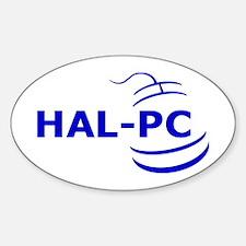 HAL-PC Sticker (Oval)
