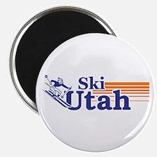 Ski Utah (male) Magnets