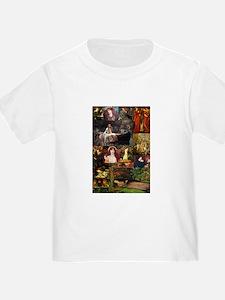 Pre-Raphaelite Collage T