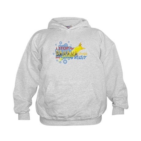 I Stop for Banana Slugs T-Shirt Kids Hoodie