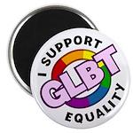 """GLBT Equality 2.25"""" Magnet (100 pack)"""