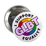 "GLBT Equality 2.25"" Button (100 pack)"