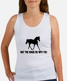 May the Horse be with you Women's Tank Top