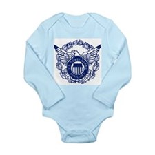 USCG Auxiliary Image<BR> Infant Creeper Body Suit
