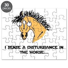 I sense a disturbance in the Horse Puzzle