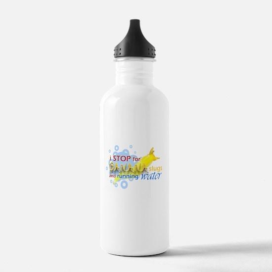 I Stop for Banana Slugs T-Shirt Water Bottle