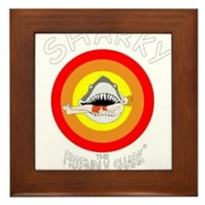 Sharky the Friendly Shark* Framed Tile