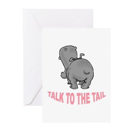 Hippo Talk To The Tail Greeting Cards (Pk of 20)