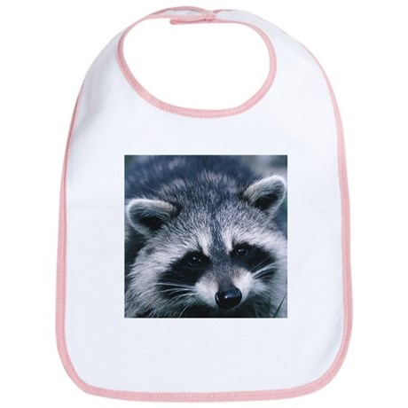 Cute Raccoon Bib