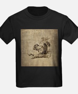 Vintage Squirrel T
