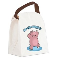 FIN-hip-hip-hooray.png Canvas Lunch Bag