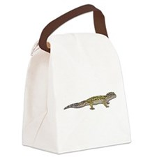 Leopard Gecko Canvas Lunch Bag