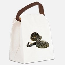 FIN-rattlesnake.png Canvas Lunch Bag