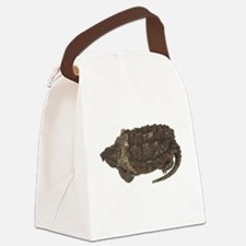 FIN-snapping-turtle... Canvas Lunch Bag
